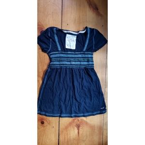 Blue Hollister Top Medium
